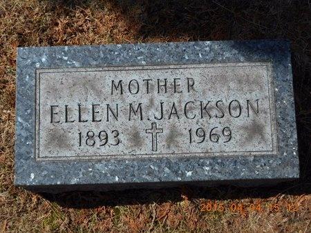 JACKSON, ELLEN M. - Iron County, Michigan | ELLEN M. JACKSON - Michigan Gravestone Photos