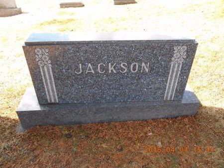 JACKSON, FAMILY - Iron County, Michigan   FAMILY JACKSON - Michigan Gravestone Photos