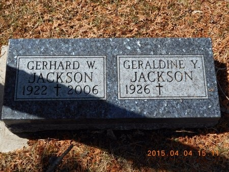 JACKSON, GERALDINE Y. - Iron County, Michigan | GERALDINE Y. JACKSON - Michigan Gravestone Photos