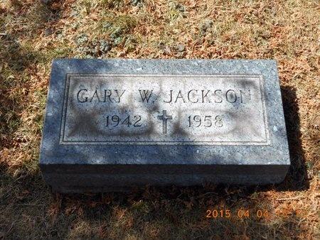 JACKSON, GARY W. - Iron County, Michigan | GARY W. JACKSON - Michigan Gravestone Photos