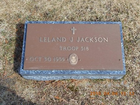 JACKSON, LELAND J. - Iron County, Michigan | LELAND J. JACKSON - Michigan Gravestone Photos