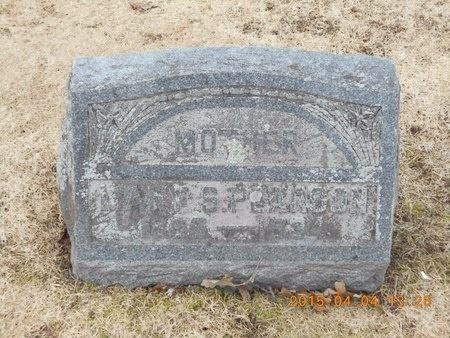 PEARSON, MARY S. - Iron County, Michigan   MARY S. PEARSON - Michigan Gravestone Photos