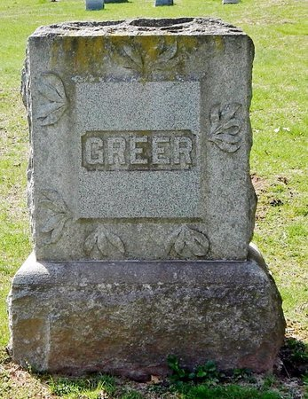 GREER, FAMILY MARKER - Kalamazoo County, Michigan | FAMILY MARKER GREER - Michigan Gravestone Photos