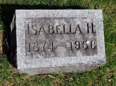 GREER, ISABELLA H. - Kalamazoo County, Michigan | ISABELLA H. GREER - Michigan Gravestone Photos