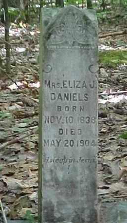 DANIELS, MRS. ELIZA J. - Leelanau County, Michigan | MRS. ELIZA J. DANIELS - Michigan Gravestone Photos