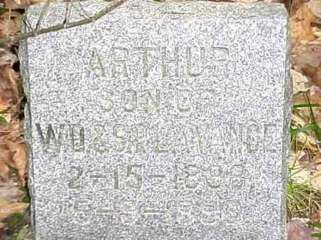 LAVANCE, ARTHUR - Leelanau County, Michigan   ARTHUR LAVANCE - Michigan Gravestone Photos