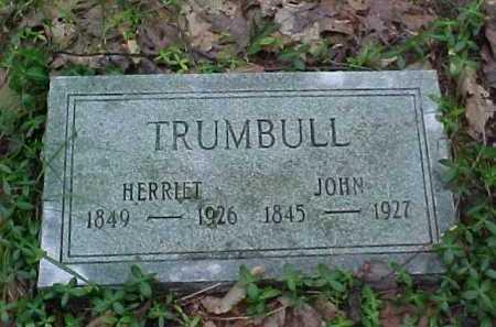 TRUMBULL, HERRIET - Leelanau County, Michigan | HERRIET TRUMBULL - Michigan Gravestone Photos