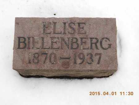 BIELENBERG, ELISE - Marquette County, Michigan | ELISE BIELENBERG - Michigan Gravestone Photos