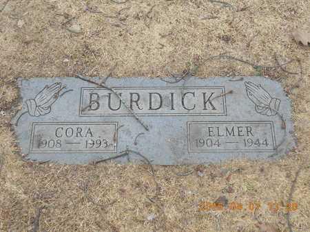 BURDICK, ELMER - Marquette County, Michigan | ELMER BURDICK - Michigan Gravestone Photos