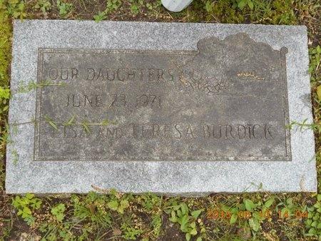 BURDICK, LISA - Marquette County, Michigan | LISA BURDICK - Michigan Gravestone Photos
