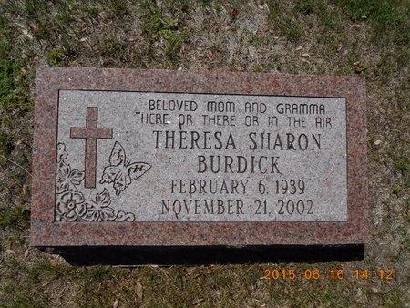 BURDICK, THERESA SHARON - Marquette County, Michigan | THERESA SHARON BURDICK - Michigan Gravestone Photos