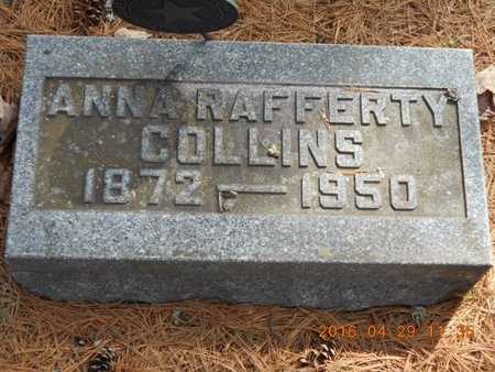 COLLINS, ANNA - Marquette County, Michigan | ANNA COLLINS - Michigan Gravestone Photos