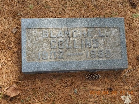 COLLINS, BLANCHE L. - Marquette County, Michigan | BLANCHE L. COLLINS - Michigan Gravestone Photos