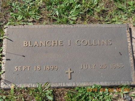 COLLINS, BLANCHE I. - Marquette County, Michigan   BLANCHE I. COLLINS - Michigan Gravestone Photos