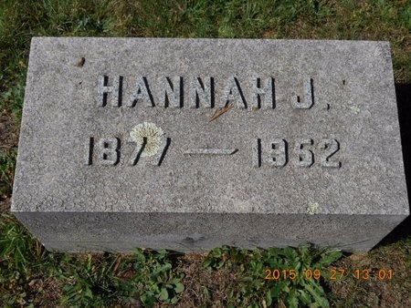 COLLINS, HANNAH J. - Marquette County, Michigan | HANNAH J. COLLINS - Michigan Gravestone Photos