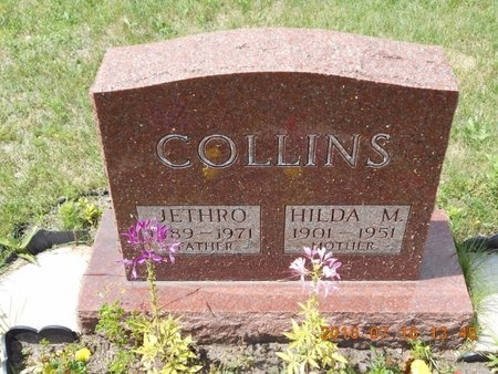 COLLINS, JETHRO - Marquette County, Michigan | JETHRO COLLINS - Michigan Gravestone Photos
