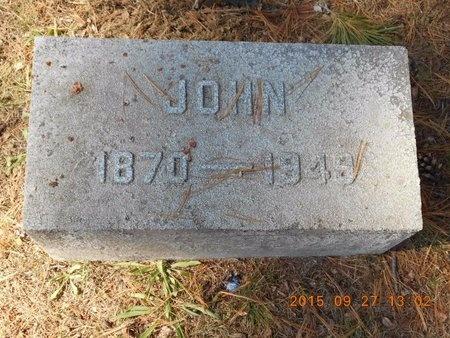 COLLINS, JOHN - Marquette County, Michigan | JOHN COLLINS - Michigan Gravestone Photos