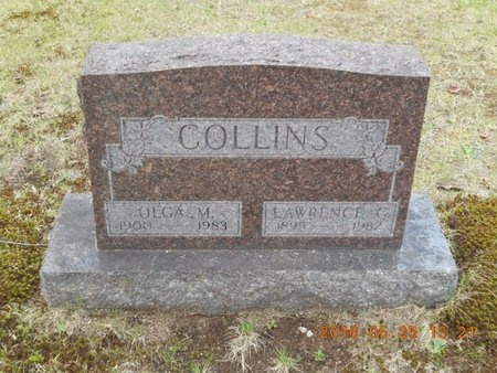 COLLINS, OLGA M. - Marquette County, Michigan | OLGA M. COLLINS - Michigan Gravestone Photos