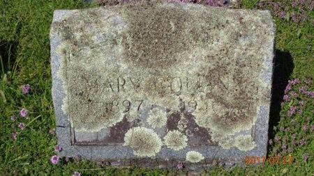COLLINS, MARY - Marquette County, Michigan | MARY COLLINS - Michigan Gravestone Photos