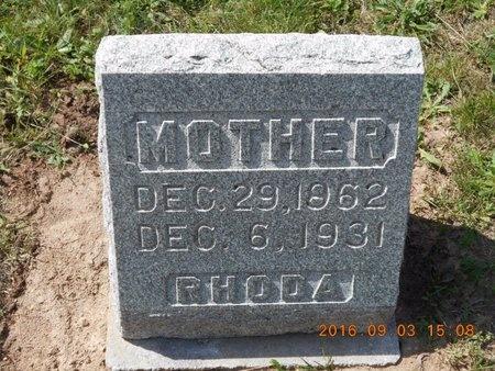 COLLINS, RHODA - Marquette County, Michigan | RHODA COLLINS - Michigan Gravestone Photos