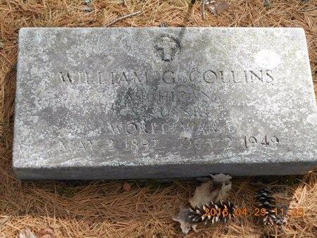 COLLINS, WILLIAM G. - Marquette County, Michigan   WILLIAM G. COLLINS - Michigan Gravestone Photos