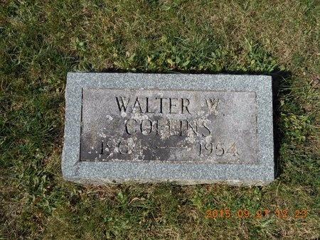 COLLINS, WALTER W. - Marquette County, Michigan   WALTER W. COLLINS - Michigan Gravestone Photos