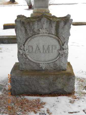DAMP, FAMILY - Marquette County, Michigan   FAMILY DAMP - Michigan Gravestone Photos