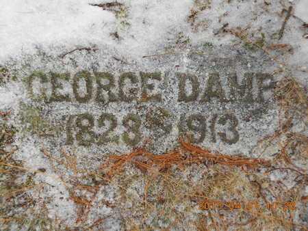 DAMP, GEORGE - Marquette County, Michigan | GEORGE DAMP - Michigan Gravestone Photos