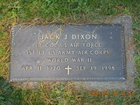 DIXON, JACK J. - Marquette County, Michigan | JACK J. DIXON - Michigan Gravestone Photos
