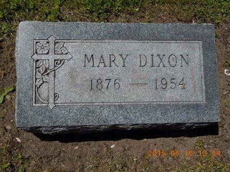 DIXON, MARY - Marquette County, Michigan | MARY DIXON - Michigan Gravestone Photos