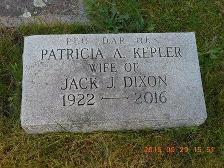 DIXON, PATRICIA A. - Marquette County, Michigan   PATRICIA A. DIXON - Michigan Gravestone Photos