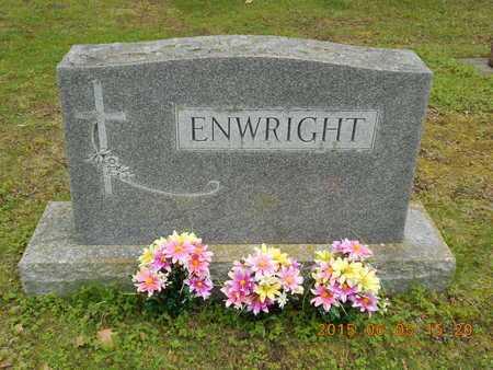 ENWRIGHT, FAMILY - Marquette County, Michigan | FAMILY ENWRIGHT - Michigan Gravestone Photos