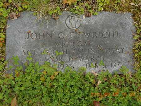 ENWRIGHT, JOHN C. - Marquette County, Michigan | JOHN C. ENWRIGHT - Michigan Gravestone Photos