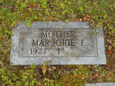 ENWRIGHT, MARJORIE F. - Marquette County, Michigan | MARJORIE F. ENWRIGHT - Michigan Gravestone Photos