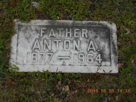 FASSBENDER, ANTON A. - Marquette County, Michigan | ANTON A. FASSBENDER - Michigan Gravestone Photos