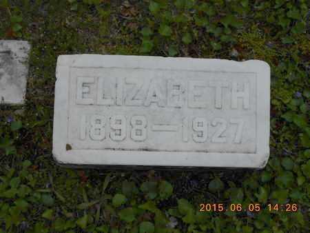 FASSBENDER, ELIZABETH - Marquette County, Michigan | ELIZABETH FASSBENDER - Michigan Gravestone Photos