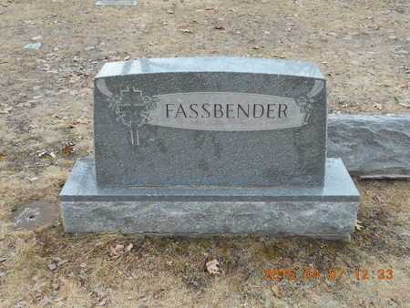 FASSBENDER, FAMILY - Marquette County, Michigan | FAMILY FASSBENDER - Michigan Gravestone Photos