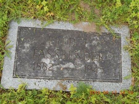 FASSBENDER, FRED F. - Marquette County, Michigan | FRED F. FASSBENDER - Michigan Gravestone Photos