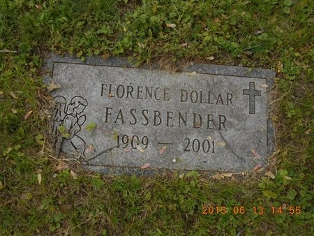 FASSBENDER, FLORENCE - Marquette County, Michigan | FLORENCE FASSBENDER - Michigan Gravestone Photos