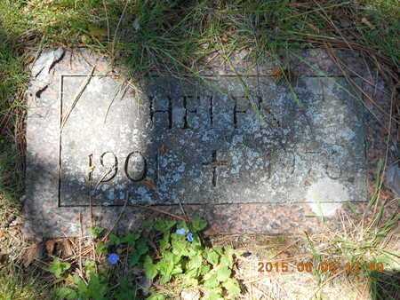 FASSBENDER, HELEN - Marquette County, Michigan   HELEN FASSBENDER - Michigan Gravestone Photos