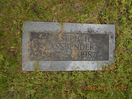 FASSBENDER, JOSEPH H. - Marquette County, Michigan | JOSEPH H. FASSBENDER - Michigan Gravestone Photos