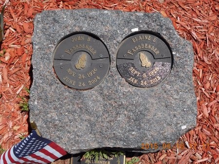 FASSBENDER, JOHN H. - Marquette County, Michigan | JOHN H. FASSBENDER - Michigan Gravestone Photos
