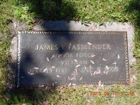 FASSBENDER, JAMES L. - Marquette County, Michigan | JAMES L. FASSBENDER - Michigan Gravestone Photos
