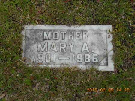 FASSBENDER, MARY A. - Marquette County, Michigan | MARY A. FASSBENDER - Michigan Gravestone Photos