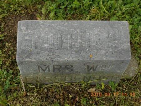 FASSBENDER, MRS. WM. - Marquette County, Michigan | MRS. WM. FASSBENDER - Michigan Gravestone Photos