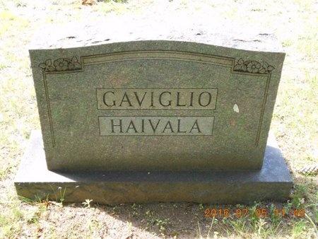 GAVIGLIO, FAMILY - Marquette County, Michigan   FAMILY GAVIGLIO - Michigan Gravestone Photos