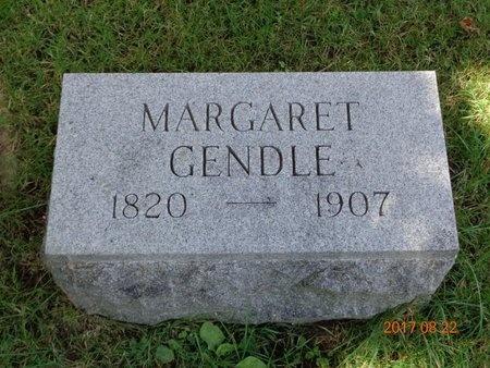 GENDLE, MARGARET - Marquette County, Michigan | MARGARET GENDLE - Michigan Gravestone Photos