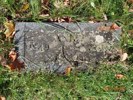 HANSEN, ANNE - Marquette County, Michigan   ANNE HANSEN - Michigan Gravestone Photos