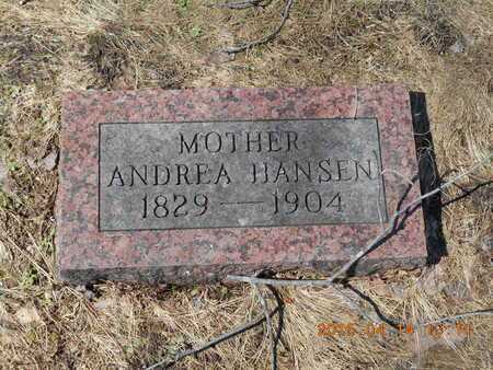 HANSEN, ANDREA - Marquette County, Michigan | ANDREA HANSEN - Michigan Gravestone Photos