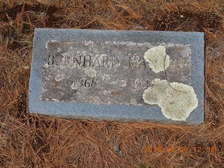 HANSEN, BERNHARD - Marquette County, Michigan | BERNHARD HANSEN - Michigan Gravestone Photos